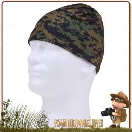 Écharpe Tour de Cou Tactique Militaire qui peut être portée comme un cache cou, couvre visage ou couvre chef