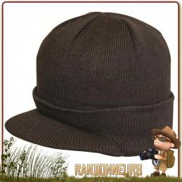 Bonnet type Jeep Caps Acrylique chaud avec visière avant pour protéger votre visage des éléments tels le vent, le pluie