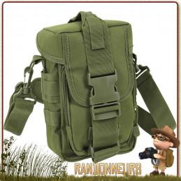 Pochette Militaire Flexipack Molle Verte Rothco pour le transport de votre équipement survie bushcraft