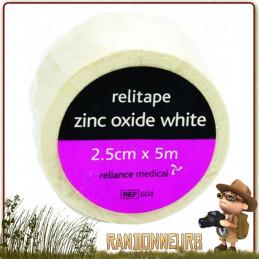 sparadrap à base d'oxyde de zinc, ayant une action efficace sur les plaies et piqures, comme désinfectant et anti-démangeaisons