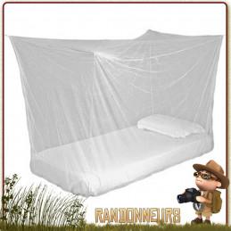 Moustiquaire imprégnée TOURER double Highlander imprégnée perméthrine anti insectes moustiques deux 2 personnes