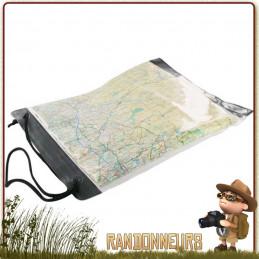Porte Carte Trekking SCOUT Highlander grande fenêtre transparente pour protéger et lire une cartographie ign