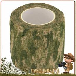 Ruban de camouflage élastique auto-adhésif pour le camouflage équipement, armes et divers accessoires pour la chasse