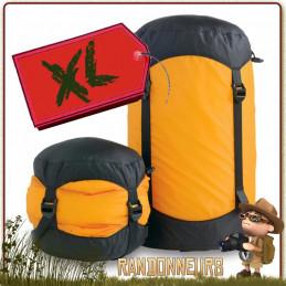 Sac Compression Ultra Léger Ultrasil Nylon XL Sea To Summit pour vêtements et sac de couchage dans sac à dos
