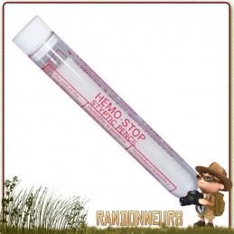 crayon hémostatique Osma permet de limiter les saignements en cas de petite coupure pour votre trousse de premiers soins