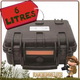 Valise Rigide Etanche X-PLOR 6.44 Litres Urikan de transport équipement sensible en milieu extrême