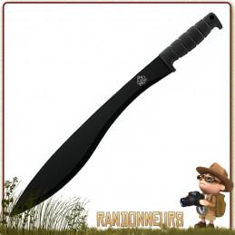 Machette lame 42 cm de Puma Tec, en acier 420, manche gomme idéale pour  travaux de coupes et débroussaillage bushcraft