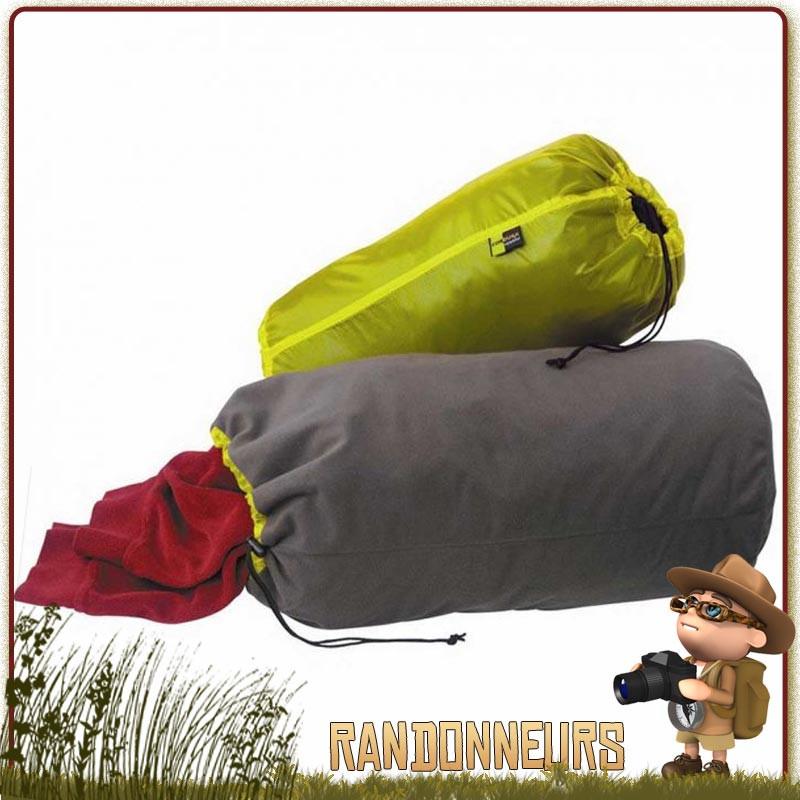 Sac de Rangement Oreiller Thermarest StuffSack Pillow oreiller doux et confortable, et poche de rangement et de transport