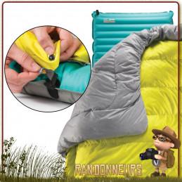 Boucle d'attache pour matelas Thermarest avec boucles pour raccorder la couverture au matelas Thermarest