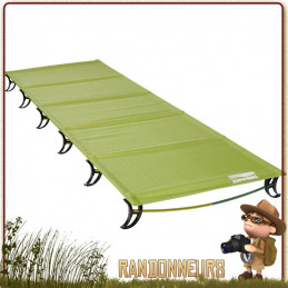 Lit Camp thermarest LUXURYLITE Ultralite Cot Reflect Regular le plus léger et le plus compact. Montage facile rapide