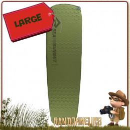 Matelas CAMP SI Sea to Summit Large auto gonflable épais pour un bivouac léger confortable et chaud
