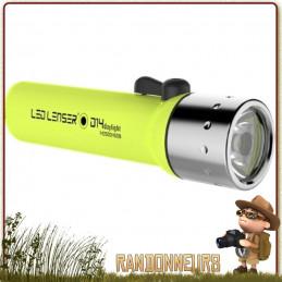 Lampe Torche étanche Led Lenser D14 Daylight 300 lumens sur près de 200 mètres de sport nautique