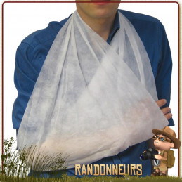 Bandage Echarpe Triangulaire Europlast de premiers soins d'urgence