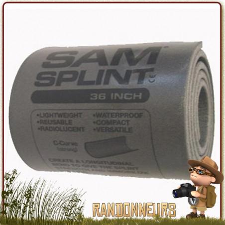ATTELLE MODELABLE SAM SPLINT 91x10 cm