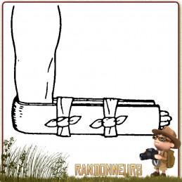 ATTELLE MODELABLE SAM SPLINT 91x10 cm pour tous les types d'immobilisation de premiers soins avec traumatisme
