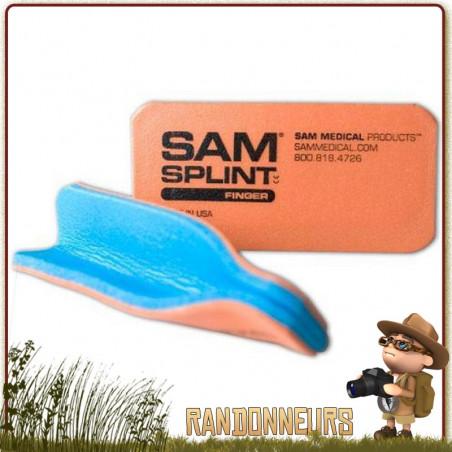 ATTELLE MODELABLE SAM SPLINT pour DOIGTS