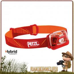 meilleure Lampe Frontage PETZL Tikkina Rouge de randonnée légère et bivouac camping