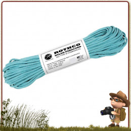 Paracorde Rothco TURQUOISE 30 mètres