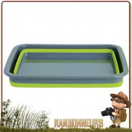 Bassine 8L repliable Silicone alimentaire Outwell plastique ultra robuste et repliable de 8.5 Litres pour le camping