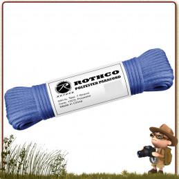 tressage bracelet Paracorde Polyester 15 m Rothco Bleu Royal