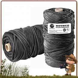 Bobine Paracorde Nylon 90 metres NOIRE Rothco