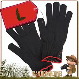 Gants Thermoline Tactile Finger Touch ARVA Large ultra léger et chaud pour le trek et compatible smartphone