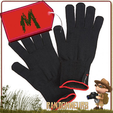 Gants Thermoline Tactile Finger Touch ARVA Medium