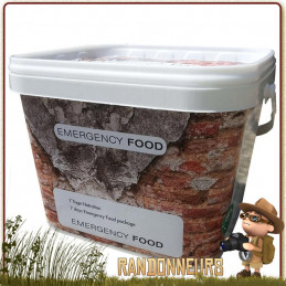 Pack Ration Alimentaire 7 Jours Emergency Food survivaliste Emergency Food de longue conservation