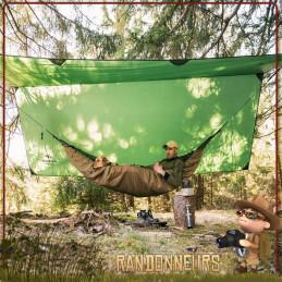 Tarp Traveller XXL Amazonas ultra léger de bivouac minimaliste bushcraft pour hamac randonnée jungle