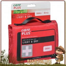 Trousse de Soins Light and Dry Small Care Plus pour la randonnée légère en famille et le voyage