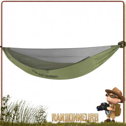 Hamac de randonnée bushcraft et jungle, le Hamac Jungle Sea To Summit complet avec  moustiquaire