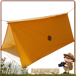 Abri Tube Tarp All Weather Orange UST de survie en montagne