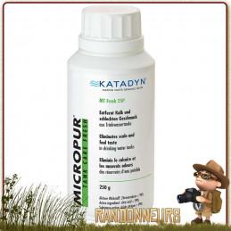 Micropur Tank Line Fresh 25P Katadyn solution contre bactéries et algues pour le traitement des réservoirs d'eau