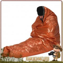 sursac de survie bcb international, bivy de protection isothermique de survie en conditions extrêmes et catastrophe