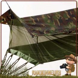 hamac jungle toile coton camouflage militaire rothco france randonnee bushcraft survie