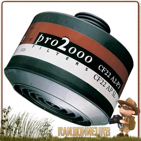 Cartouche Filtre Combiné Pro2000 A2P3