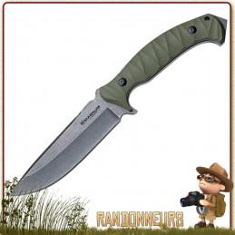 Poignard BOKER Magnum Persian Fixed, meilleur couteau bushcraft survie plate semelle