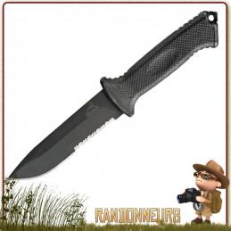 Poignard Prodigy Gerber, meilleur couteau bushcraft survie plate semelle tactique militaire