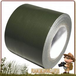 Duct Tape Haute Résistance vert armée Ruban adhésif vinyle haute résistance kaki, adhésif avec bande large