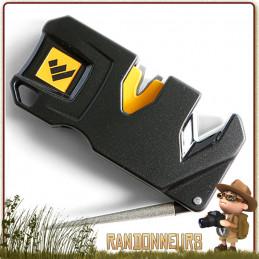 aiguiseur Manuel Pivot plus Worlsharp portable pour l'affutage de couteaux pliants survie bushcraft