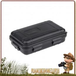 boite plastique étanche pour la protection équipement de survie randonnee