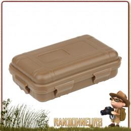 boite protection etanche avec mousse de calage pour petit equipement randonnee survie