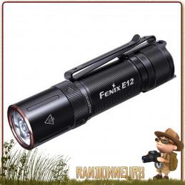 Lampe Torche FENIX E12 V2 160 lumens legere puissante pour randonner travail professionnelle