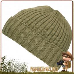 Bonnet randonnee Bushcraft Polaire Vert Fostex pour l'hiver au chaud