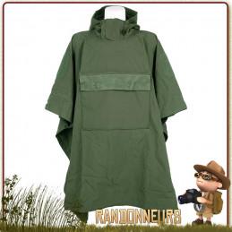 meilleur Poncho militaire Tarp toile SoftShell respirante Outbreak Vert 101 Inc