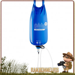 Filtre Katadyn Gravité Befree 10L traitement eau expedition voyage