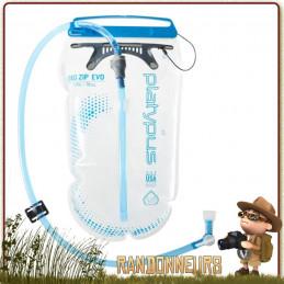 Poche d'hydratation BIG ZIP EVO 150 cl Platypus pour randonnée vélo et vtt