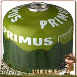 cartouche de combustible pour réchaud gaz Primus Summer Gaz très bon rendement l'été