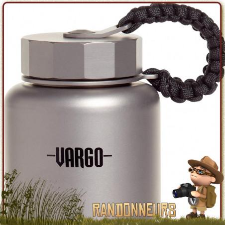 Bouteille Para Bottle Titanium 1 Litre VARGO
