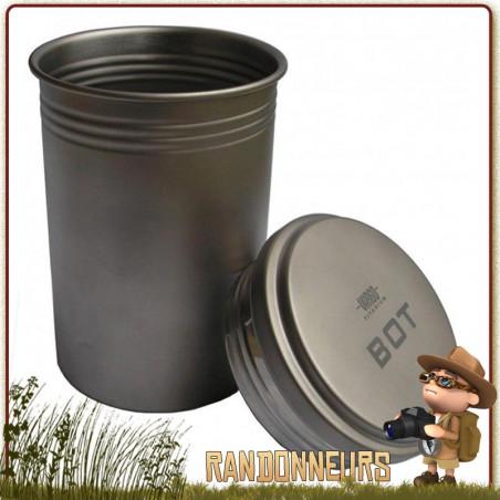Gourde Pot Titane 100 cl Vargo